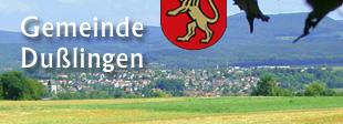 Wappen der Gemeinde Dußlingen