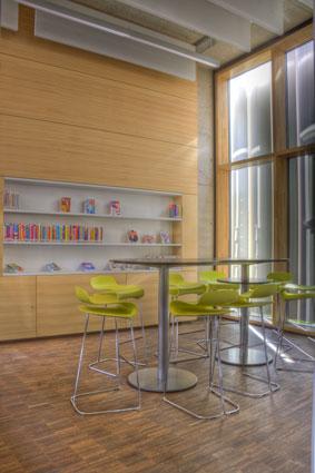 Jugendbereich Bücherei