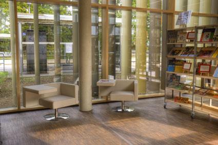 Leseecke in der Bücherei