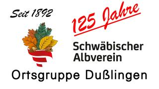 Logo für 125 Jahre Albverein