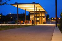 Der Bürgerpark bei Nacht