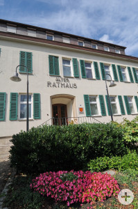 """Der Eingangsbereich des """"Alten Rathauses"""""""