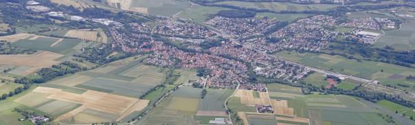 Luftaufnahme von Dußlingen