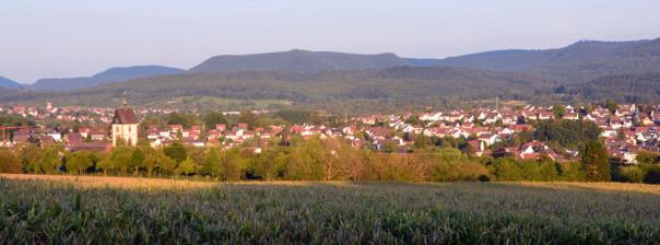 Ansicht von Westen