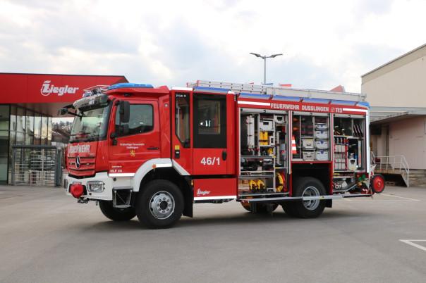 Neues Feuerwehrfahrzeug HLF 20
