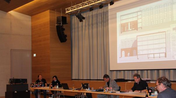 Vorstellung des Bauantrags Wilhelm-Herter-Straße 52